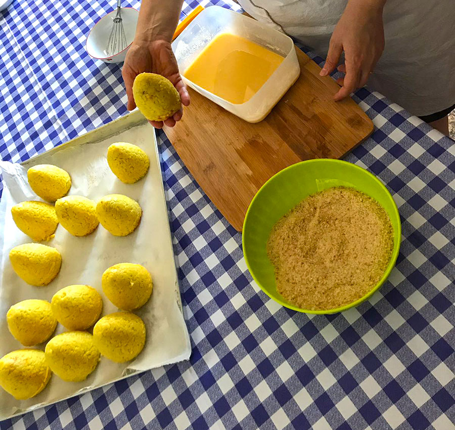 Anna's Kitchen Homemade Pasta & Sicilian Food - Gli Arancini